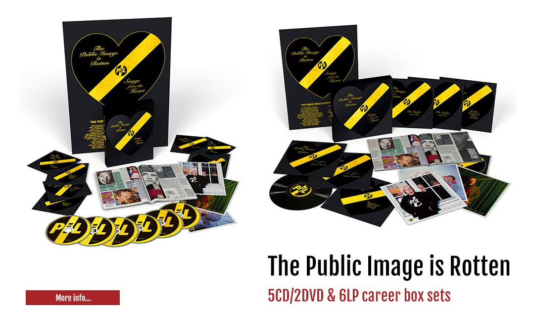 The Public Image is Rotten (Songs from the Heart) box set
